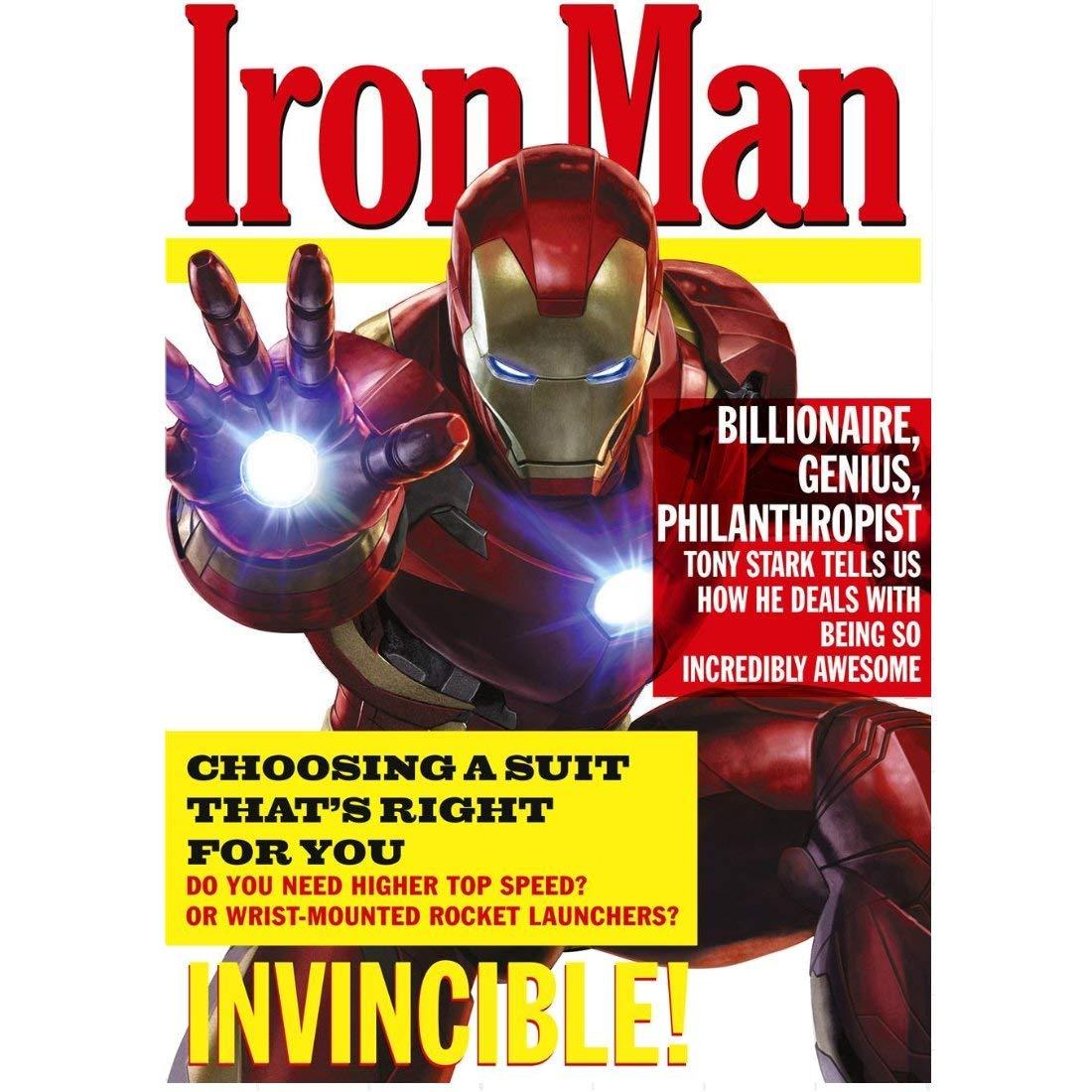 Tarjeta de cumpleaños y sobre de Iron Man, superhéroe de ...