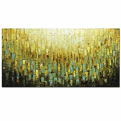 Amazon.com: Metuu Modern Canvas Paintings, Texture Palette Knife ...