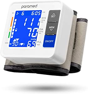 PARAMED Automatic Wrist Blood Pressure Monitor Cuff 2020