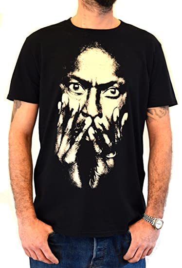6515ba321 Amazon.com: Faces | Miles Davis | Men's Organic T-Shirt Hand Printed ...