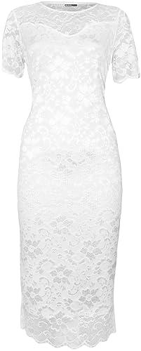WearAll Plus Size Women's Lace...