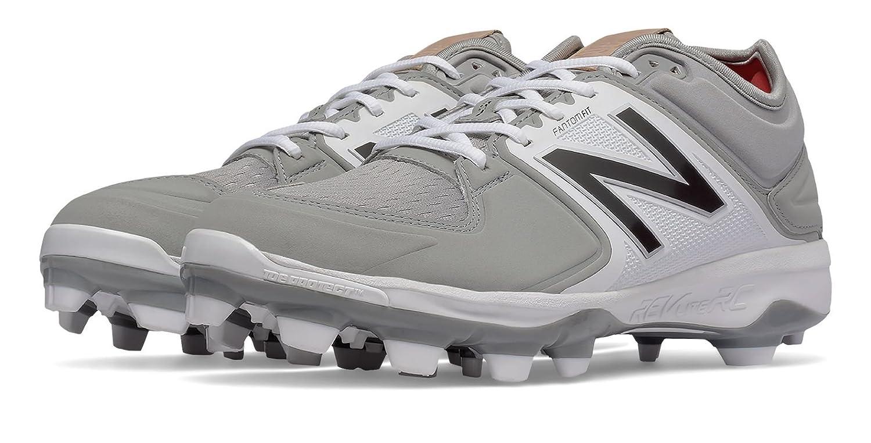 (ニューバランス) New Balance 靴シューズ メンズ野球 Low-Cut 3000v3 TPU Molded Cleat Grey with White グレー ホワイト US 5.5 (23.5cm) B01N3U7K9Y