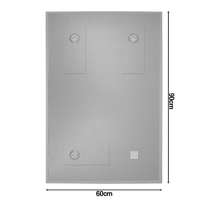 Magnetboard mit Motiv Magische Lotusbl/üte Memoboard beschreibbar Magnetwand mit 4 Magneten BANJADO Design Glas-Magnettafel 60x90cm gro/ß