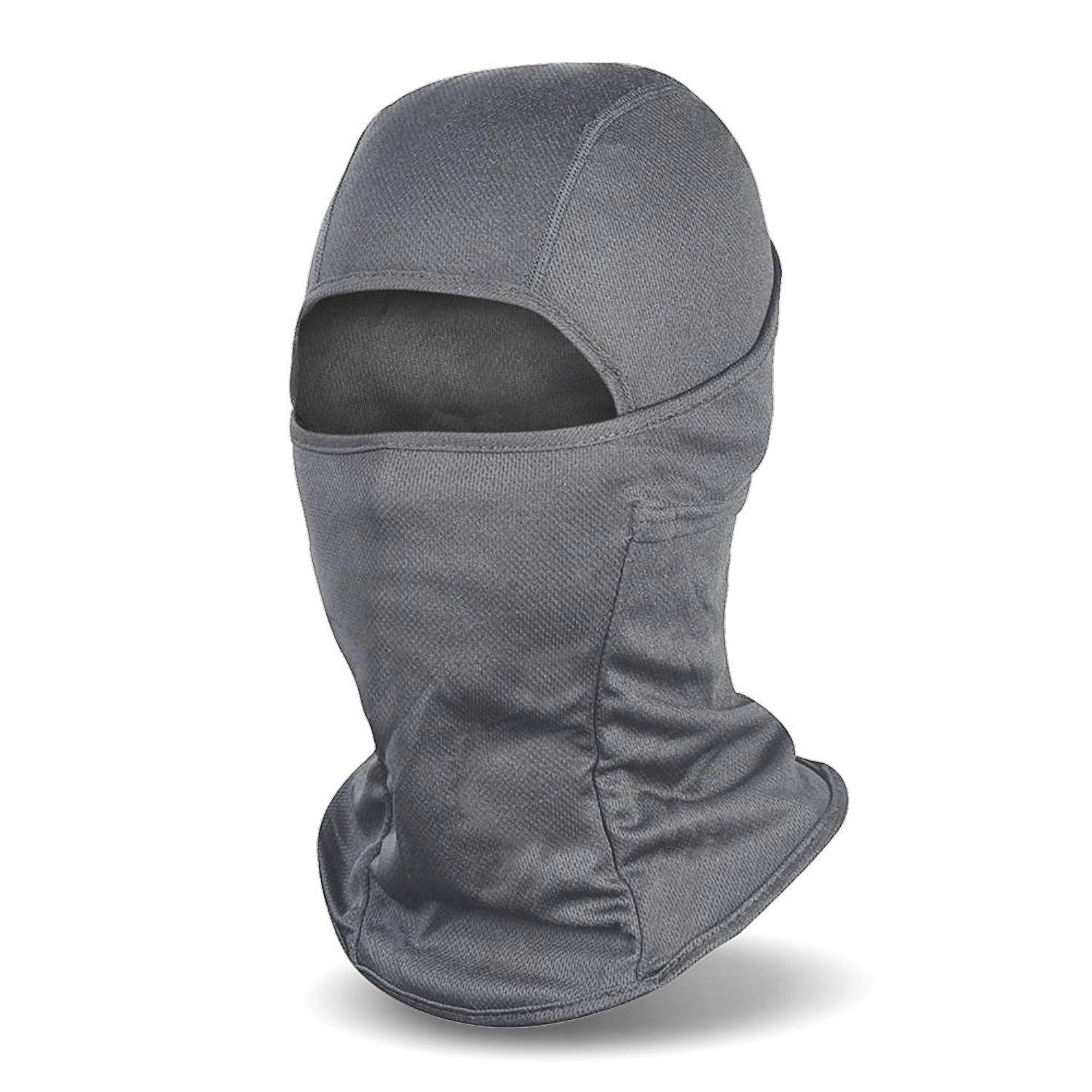 Balaclava Windproof Ski Mask Cold Weather Face Mask Motorcycle Neck Warmer Tactical Hood Afghan Tan BV01-ATN