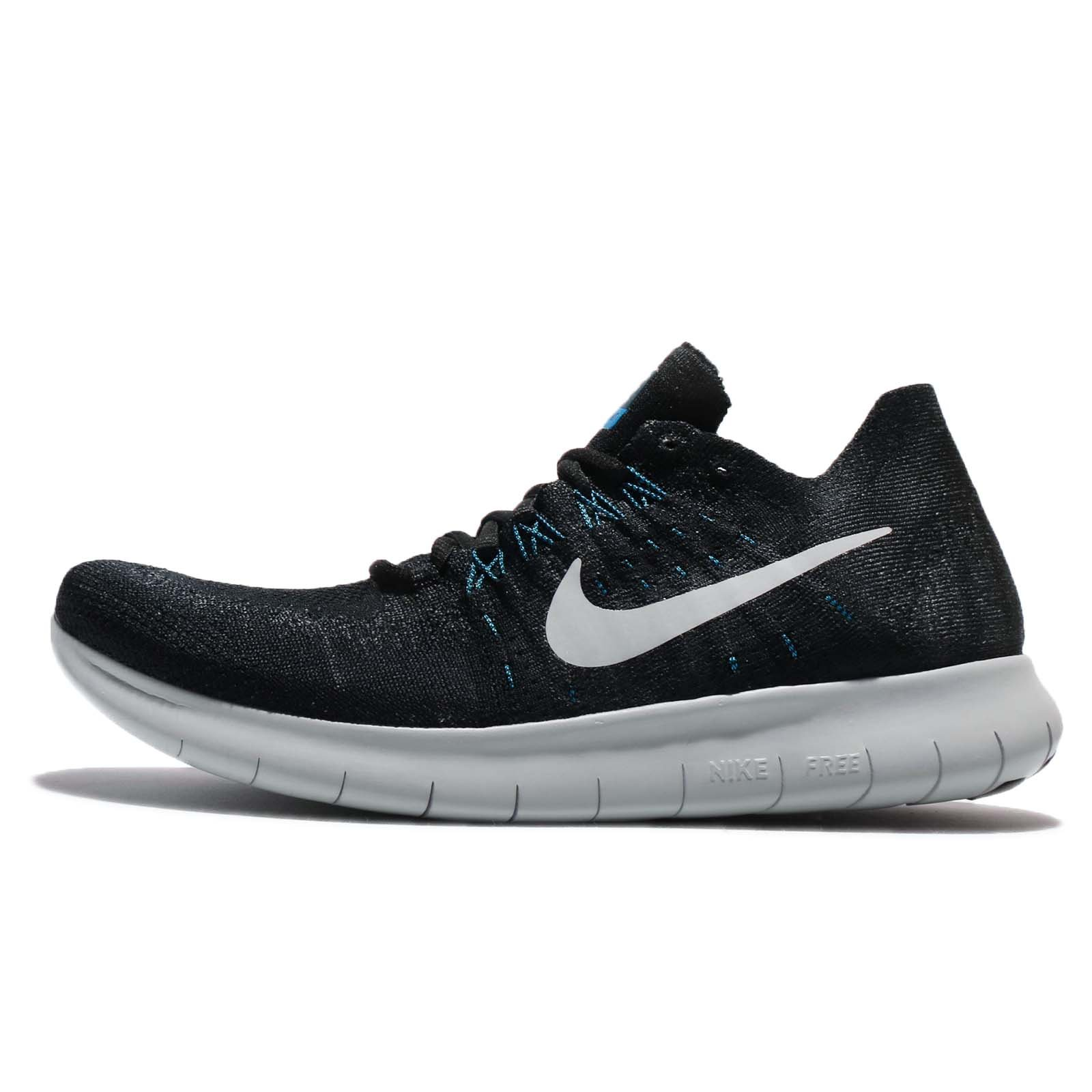 buy popular de396 d6d91 Galleon - Nike Men s Free RN Flyknit 2017, Black Off White-Anthracite, 7.5  M US