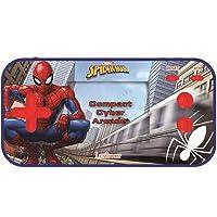 Lexibook JL2367SP Marvel Spider-Man Peter Parker Compact Cyber Arcade bärbar spelkonsol, 150 spel, LCD, batteridriven…