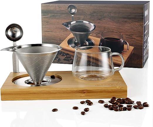 Amazon.com: El juego de gotero de café incluye filtros ...