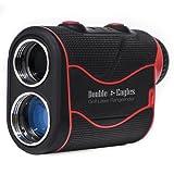 Double Eagles DEPRO-800 Golf Rangefinder - Laser Range Finder with Pinsensor - Laser Binoculars - Free Battery - Water Proof
