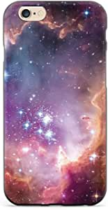 Inspired Cases - 3D Textured iPhone 6 Plus/6s Plus Case - Rubber Bumper Cover - Protective Phone Case for Apple iPhone 6 Plus/6s Plus - Hubble Scope Colorful Constellation Stars Outer Space