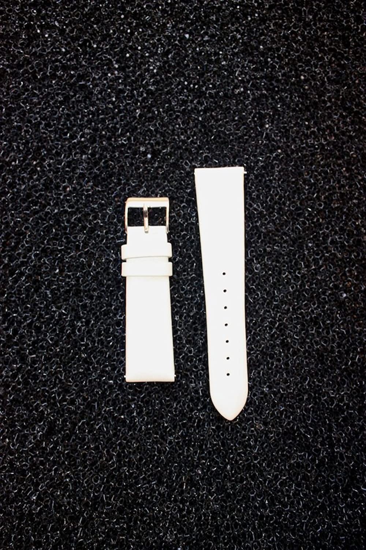 18 mmホワイトサテンwith QR簡単ピン。Micheleスタイル  B004U8OHNO