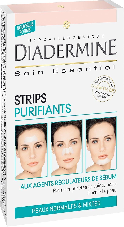 Diadermine, Strisce purificanti per il viso, 6 pz. Henkel Cosmétique France 3178040202719