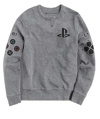 Playstation Manette Symboles Officiel Hommes Sweatshirt