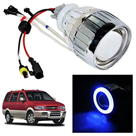 Vheelocityin Blue Ring Projector Headlight Headlamp For