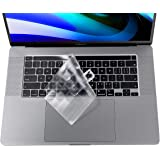 Ultra Thin MacBook Pro 16 inch Keyboard Cover for New MacBook Pro 16 inch 2019 Release A2141 with Touch Bar & Touch ID Keyboard Cover Protective Skin