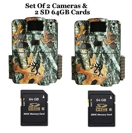Amazon.com: Browning BTC5HDPX - Juego de 2 tarjetas SD de 64 ...