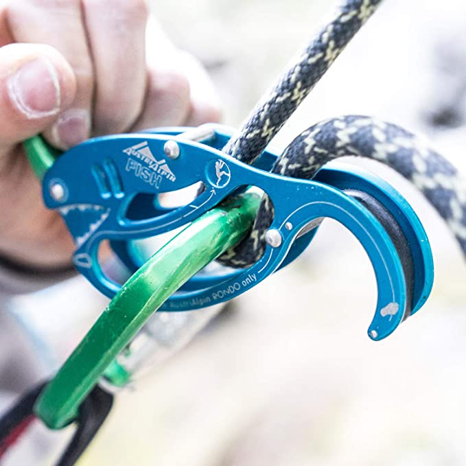 Austrialpin pescado sicherungsgerät klettern neu