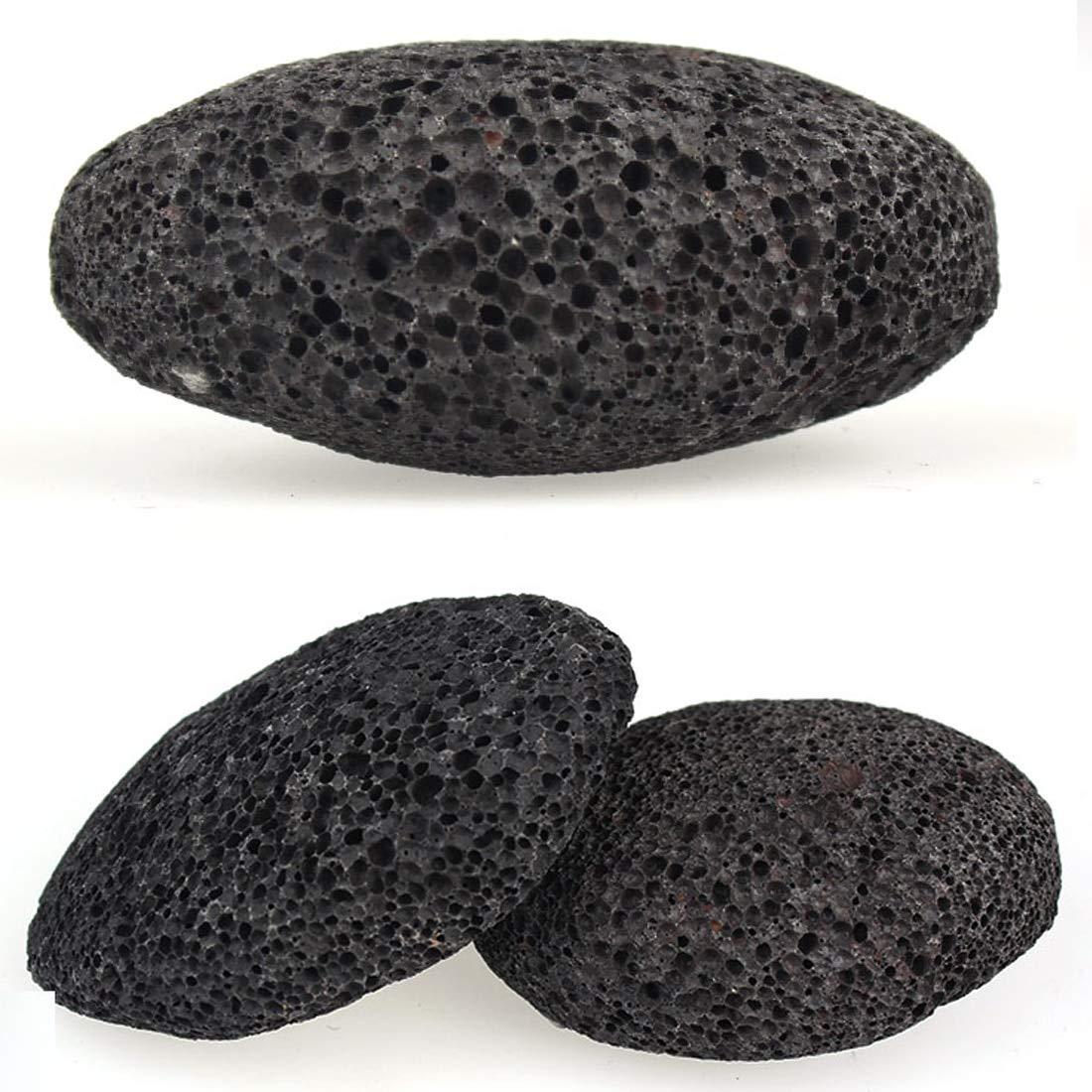 Piedra volcánica natural Piedra de lava Piedra pómez Archivo de molienda Roca Muerta Piel dura Removedor de callo Pedicura Cuidado de pies Masaje uu19ee