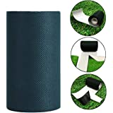 """TYLife Artificial Grass Tape 6"""" x49'(15cmx 15m) Self-Adhesive Seaming Turf Tape Lawn Carpet Jointing,Green"""