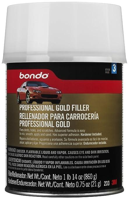 3293eee2dab Amazon.com  Bondo Professional Gold Filler