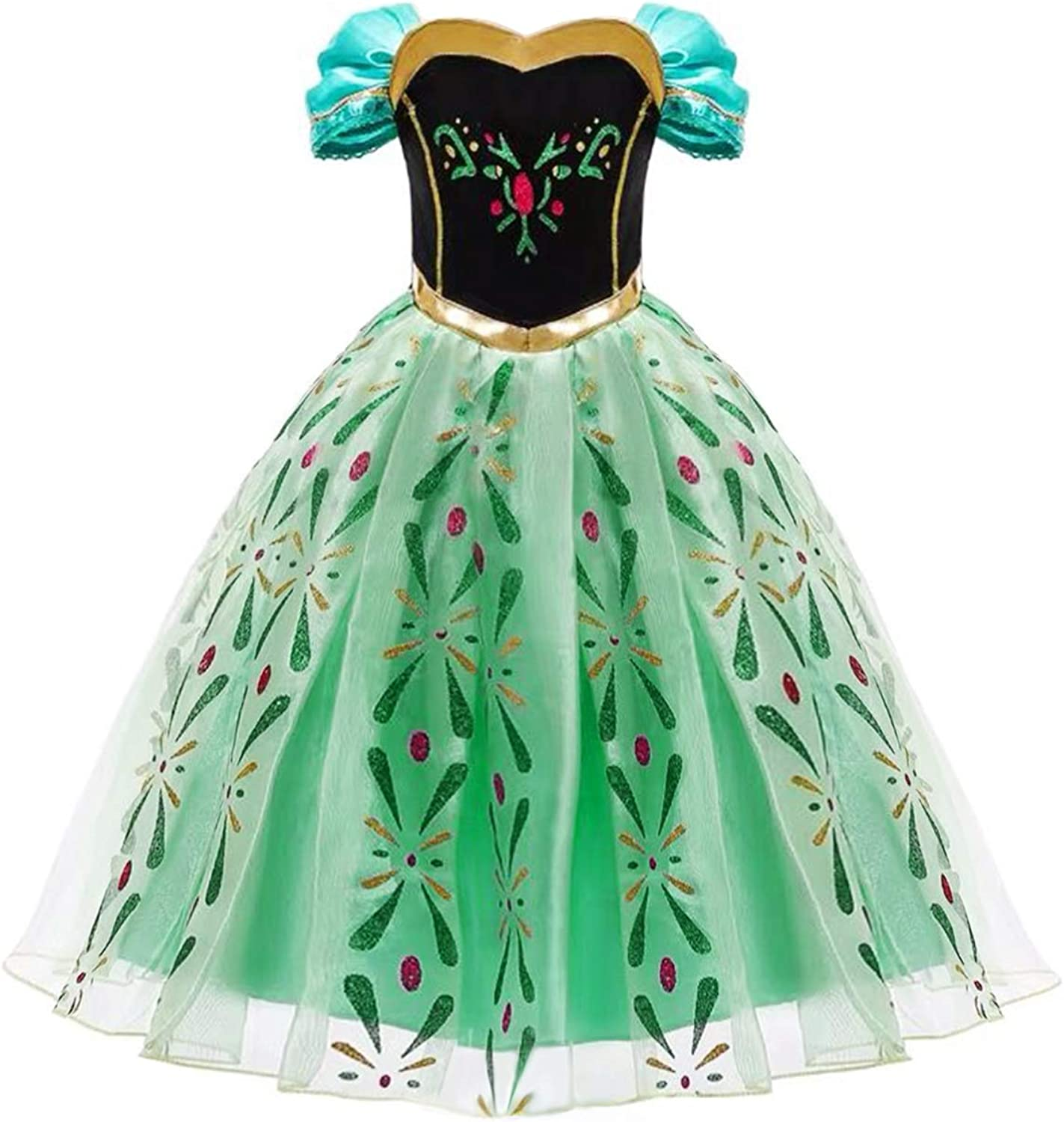 FROZEN 2 FANCY DRESS ANNA AGES 3-4 COSPLAY COSTUME PRINCESS