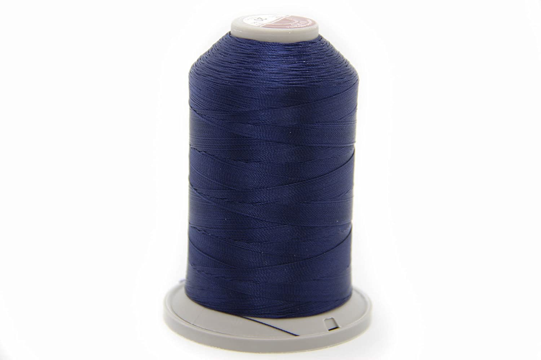 Costuras NTS 1000/m Hilo Filamento de selecci/ón de Colores Azul para Piel Piel Hilo 20