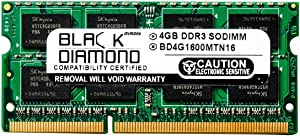 4GB RAM Memory for Acer Aspire One 756-2623 Black Diamond Memory Module DDR3 SO-DIMM 204pin PC3-12800 1600MHz Upgrade