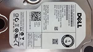 Dell Wd 1TB 7.2K RPM 3Gbp/s SATA 3.5 INCH Hard Drive V8FCR WD1003FBYX