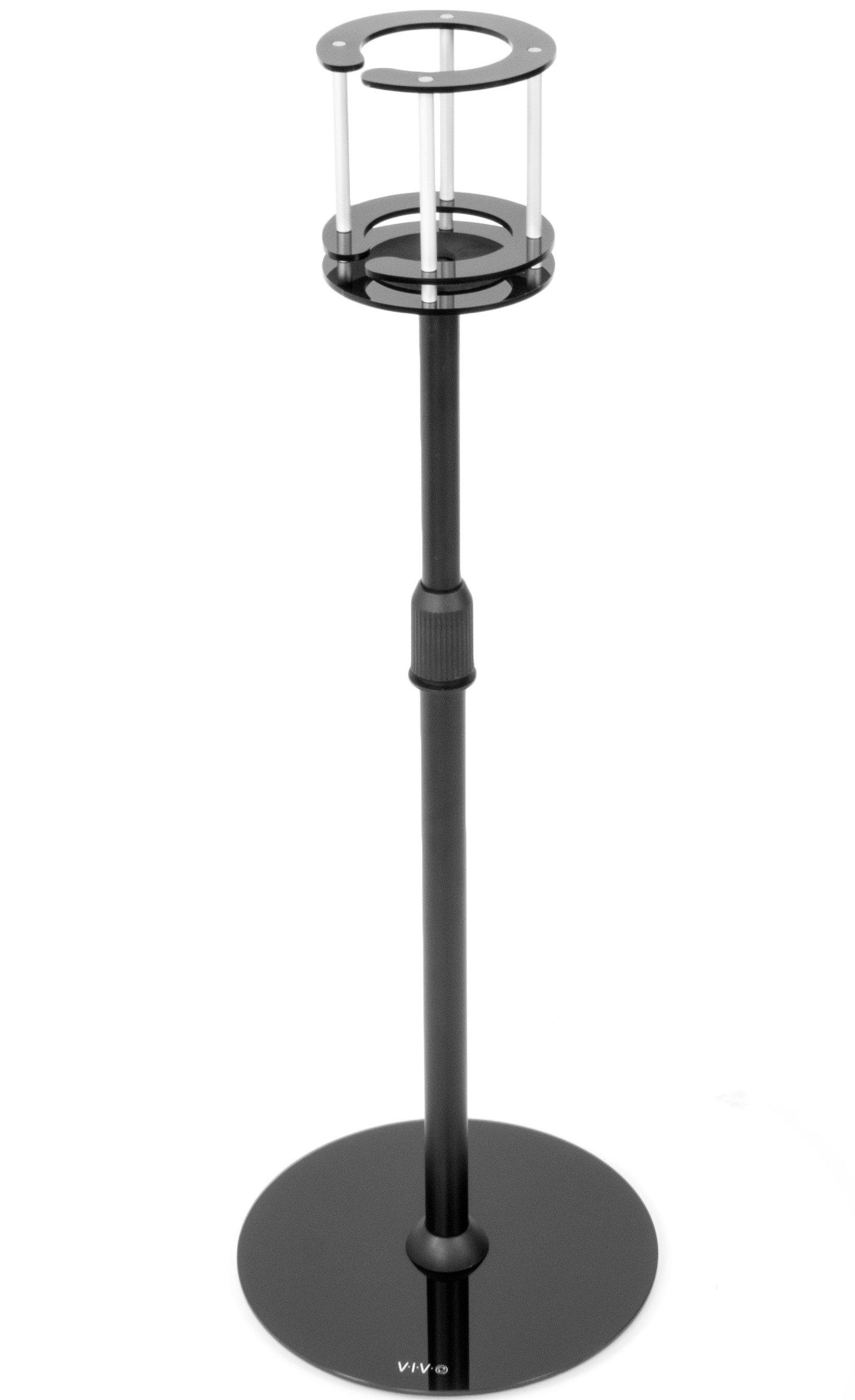 VIVO Black Height Adjustable Steel Floor Stand Holder Mounting Bracket designed for Amazon Echo (1st Gen) Device (STAND-ECHO1)