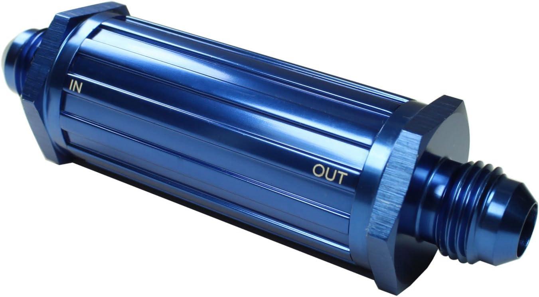 EMS Kraftstofffilter Benzinfilter AN6 DASH6 10 Micron