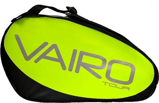 VAIRO Paletero de pádel Tour LTD (Amarillo Flúor): Amazon.es: Deportes y aire libre