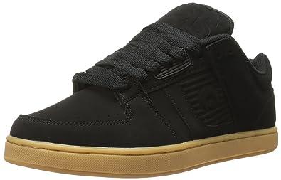Osiris Men's Script Skate Shoe, Black/Gum, ...