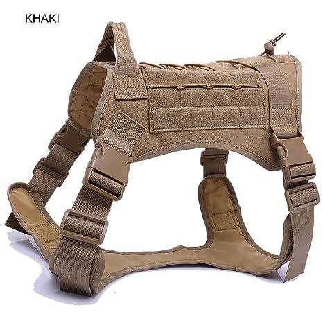 jingjing Police K9 - Arnés de Entrenamiento táctico para Perro ...