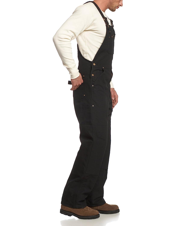 Carhartt Workwear Latzhose Duck Bib Overall Arbeitshose Gr/ö/ße 42 // 30 braun R01BRN
