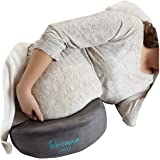 hiccapop Pregnancy Pillow Wedge for Memory Foam Maternity Pillows Support Body, Belly, Back, Knees