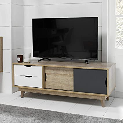 huge discount 380ab 997ff DOWNTON INTERIORS Contemporary Swedish Style Oak TV Stand ...