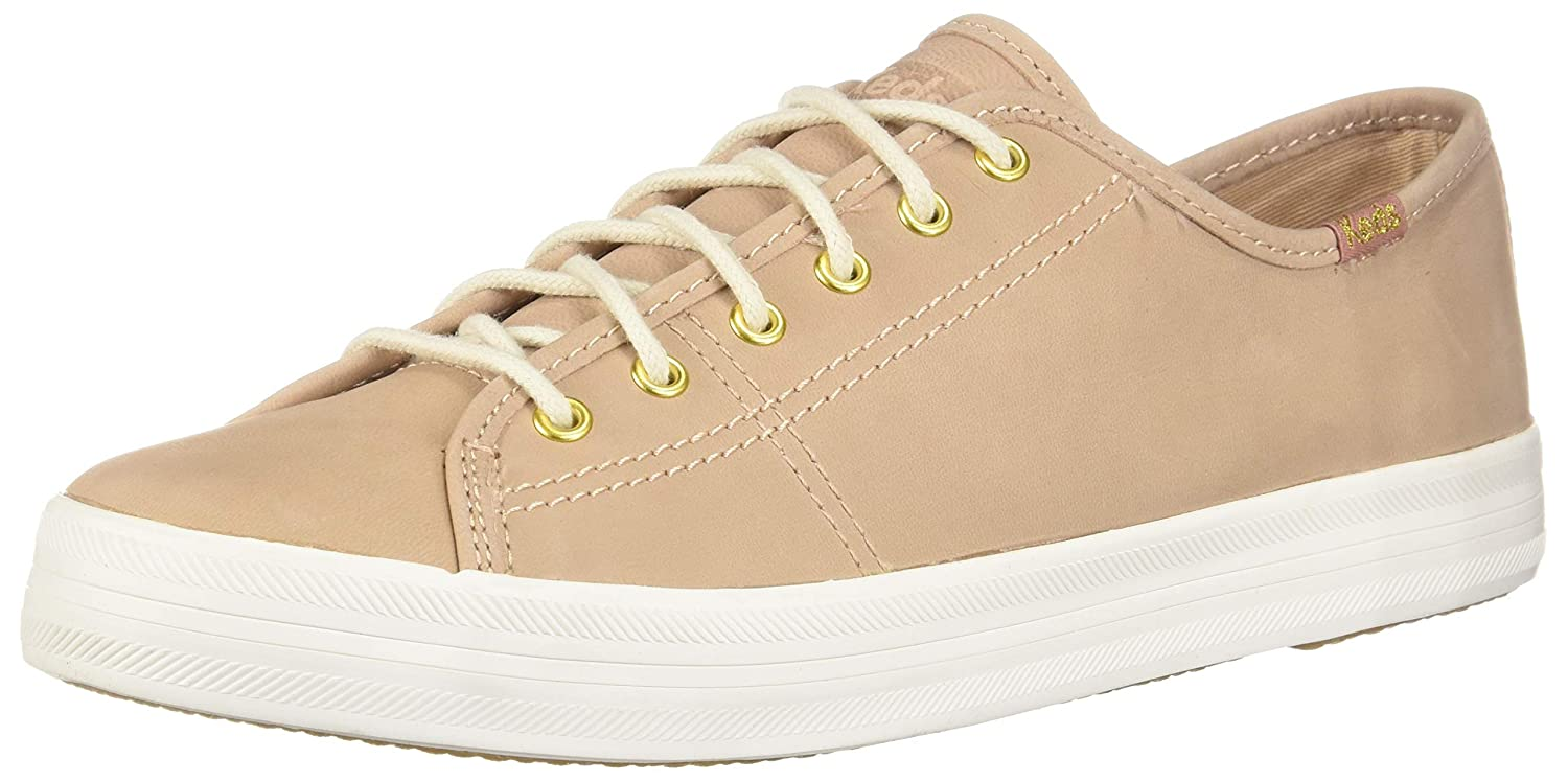Natural Keds Women's Kickstart Leather Sneakers