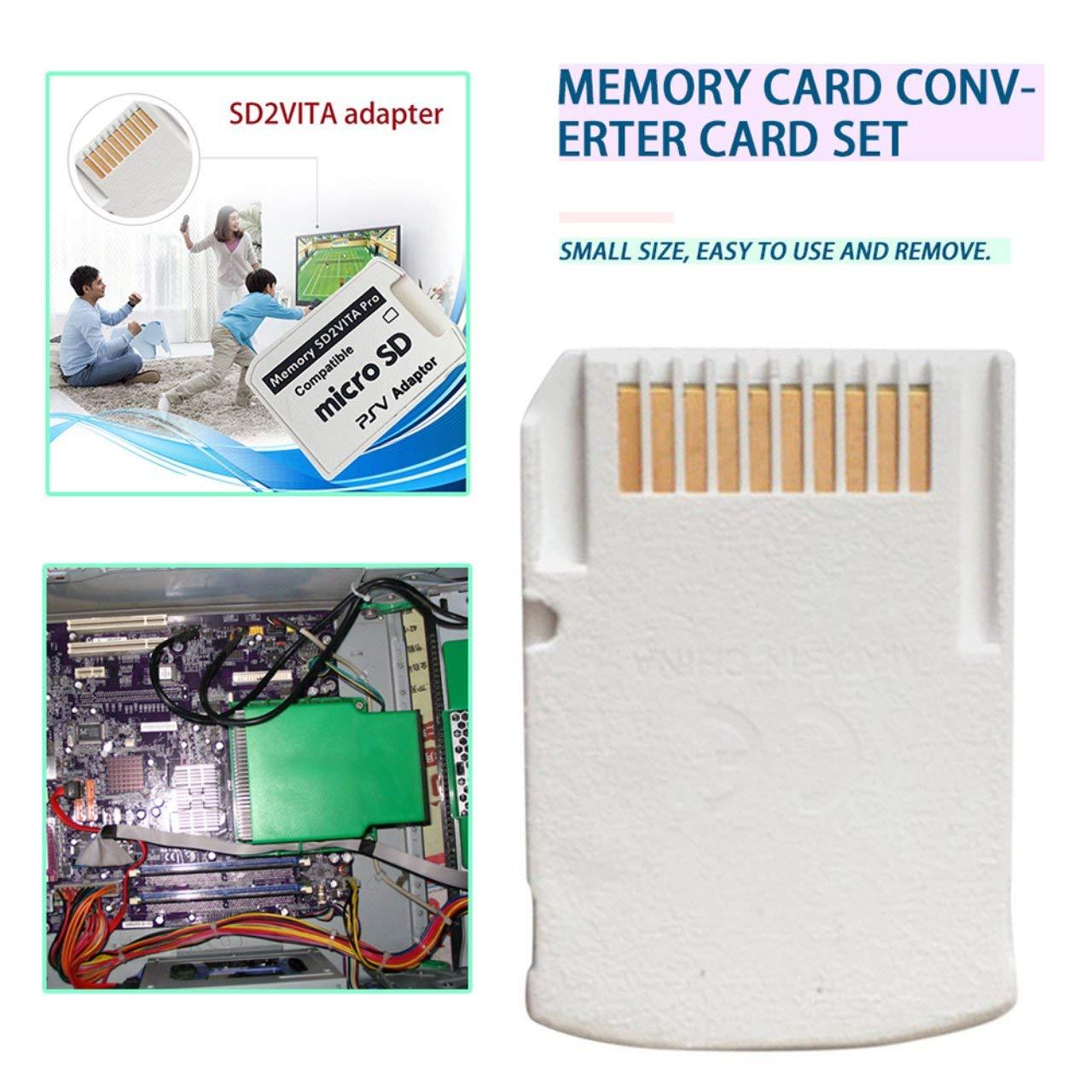 Amazon.com: Dalkeyie SD2VITA 5.0 - Adaptador para tarjeta de ...