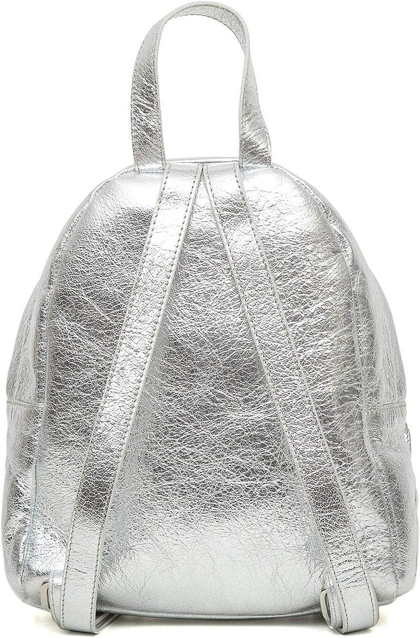 Sac à dos femme Pillow ester Mini Soft Leather Backpack Métallique