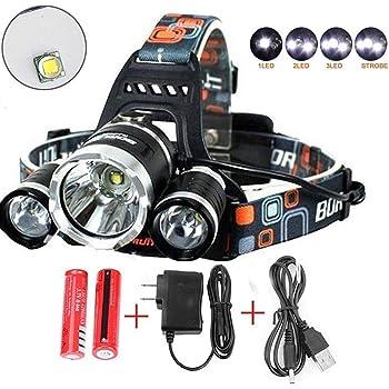 Amazon Com X Store 8000 Lumens Headlamp Led Flashlight Bright