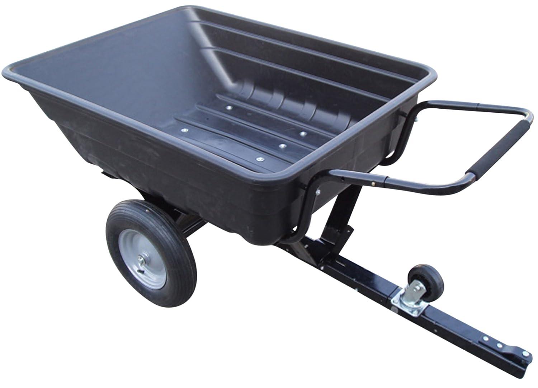 GREENSTAR 1730Anhänger mit Benne Basculante Kunststoff maximale Kapazität, schwarz, 35265