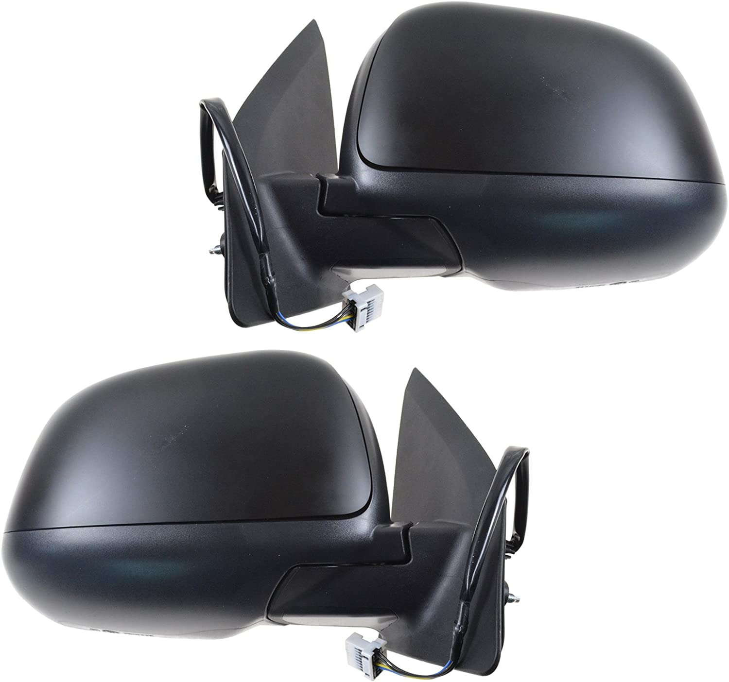 Mirrors Power Heated Paint to Match LH /& RH Pair for Mitsubishi Outlander Sport