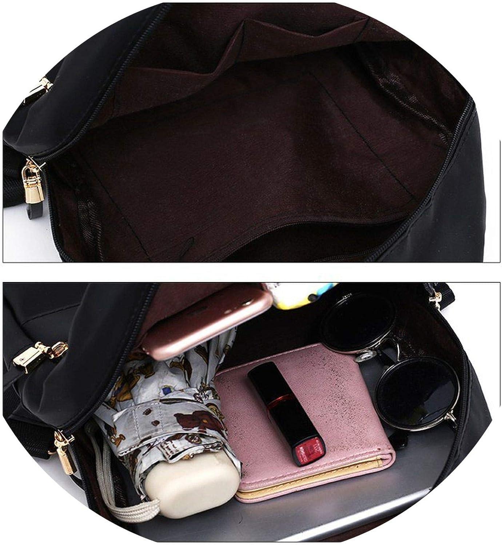 on Vintage Backpack Set Women Leather Backpacks with Shoulder Bag School Bags for Teenagers Girls Fe