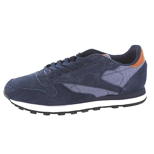Zapatilla Sportwear Reebok CLASSIC LEATHER Azul 41
