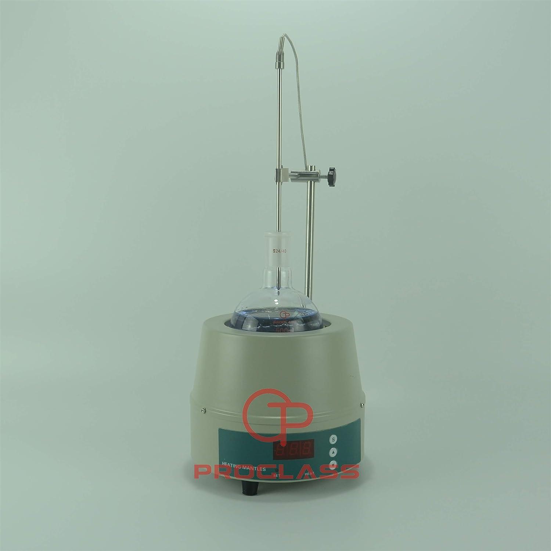 Proglass 110V 60HZ US Plug 500mL Digital Display Heating Mantle