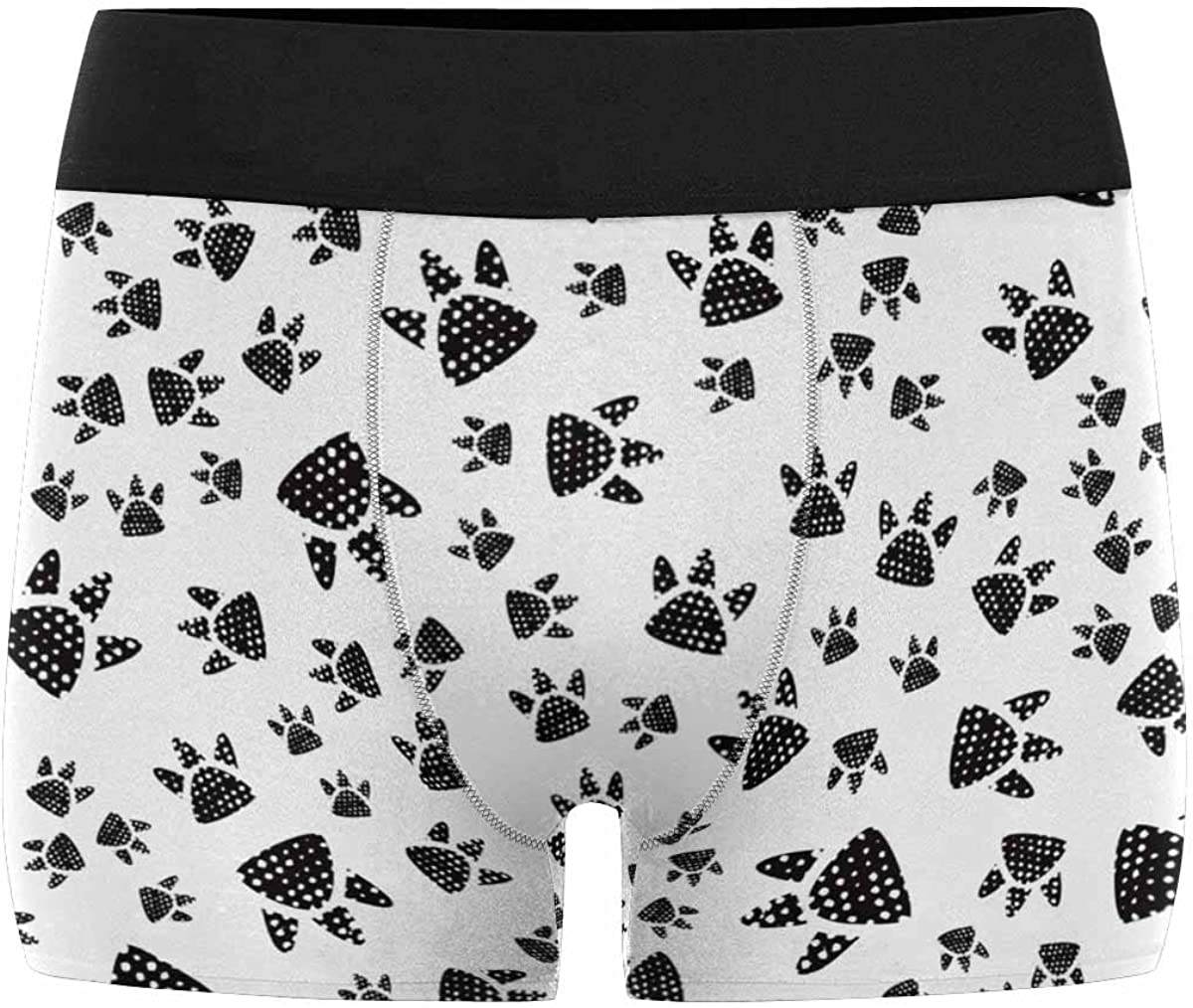 INTERESTPRINT Mens All-Over Print Boxer Briefs Cute Unicorns in The Sky XS-3XL