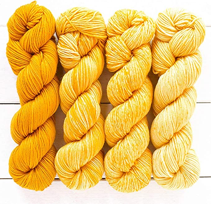 Midnight Fingering Weight 100g skein Hand Dyed Tonal Yarn MerinoNylon Yarn 7525