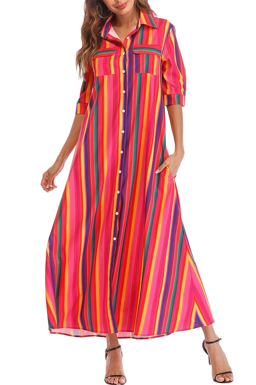 d68ede324d3 Top 10 wholesale Cotton Maxi Shirt Dress - Chinabrands.com