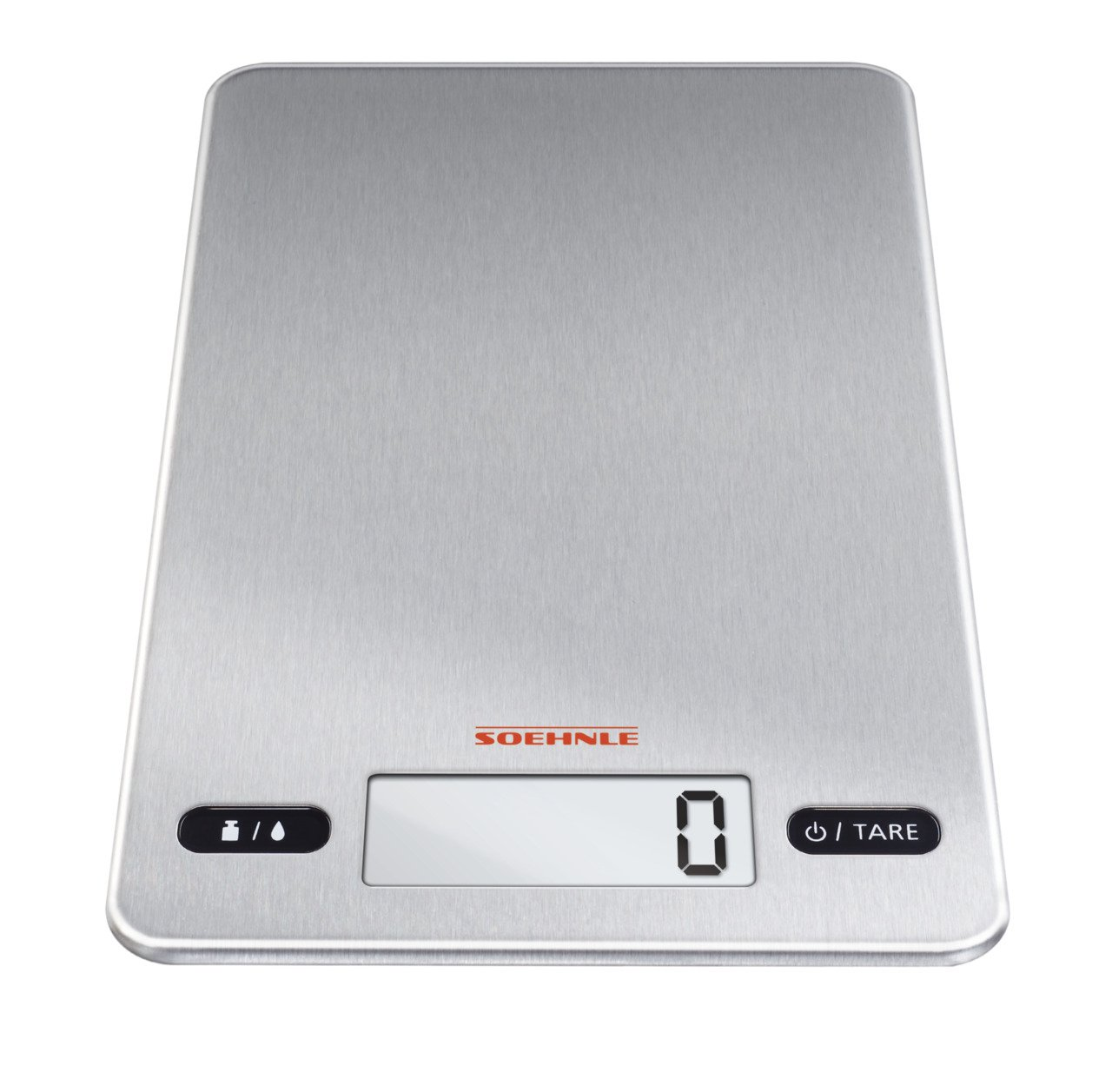 Slimline Kitchen Appliances Soehnle Page Evolution Electronic Kitchen Scale Ultra Thin 83 Mm