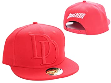 Marvel Daredevil Logo Snapback Cap (Red)  Amazon.co.uk  Toys   Games b4c3890fba2f