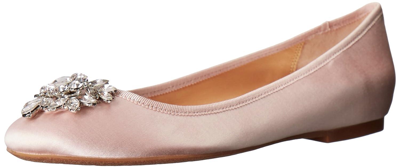 Light Pink Badgley Mischka Womens white Ballet Flat